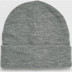 Vero Moda - Czapka. Szare czapki zimowe damskie marki Vero Moda, na zimę, z dzianiny. Za 29,90 zł.