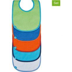 Śliniaki: Ślinaczki (5 szt.) z kolorowym wzorem – 30 x 21,5 cm