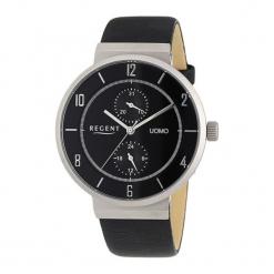 """Zegarek """"11110611"""" w kolorze czarno-srebrnym. Czarne, analogowe zegarki męskie Dugena & Nautec No Limit, srebrne. W wyprzedaży za 179,95 zł."""