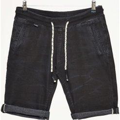 Spodenki i szorty męskie: Jeansowe szorty - Czarny