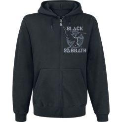 Black Sabbath Creature Maze Bluza z kapturem rozpinana czarny. Czarne bejsbolówki męskie Black Sabbath, m, z nadrukiem, z kapturem. Za 164,90 zł.