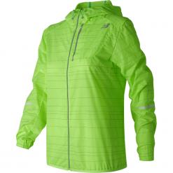 New Balance WJ71203LIG. Zielone kurtki damskie do biegania New Balance, xs, z materiału. W wyprzedaży za 199,99 zł.