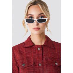 NA-KD Accessories Prostokątne okulary przeciwsłoneczne - White. Szare okulary przeciwsłoneczne damskie lenonki marki ORAO. Za 80,95 zł.