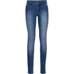 """Dżinsy SKINNY bonprix niebieski """"stone"""". Niebieskie jeansy damskie marki House, z jeansu. Za 59,99 zł."""