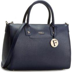 Torebka FURLA - Linda 851013 B BED6 B30 Navy. Niebieskie torebki klasyczne damskie Furla, ze skóry. Za 1285,00 zł.