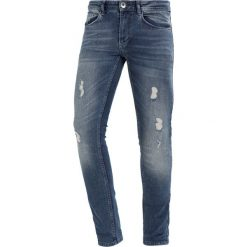 Redefined Rebel STOCKHOLM DESTROY Jeans Skinny Fit authentic indigo. Niebieskie jeansy męskie marki Redefined Rebel. Za 169,00 zł.