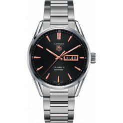 ZEGAREK TAG HEUER CARRERA WAR201C.BA0723. Czarne zegarki męskie marki KALENJI, ze stali. Za 11590,00 zł.