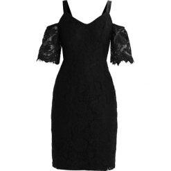 Sukienki hiszpanki: Dorothy Perkins Petite COLD SHOULDER Sukienka etui black