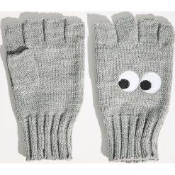 Rękawiczki bez palców - Jasny szar. Szare rękawiczki damskie Sinsay. Za 19,99 zł.