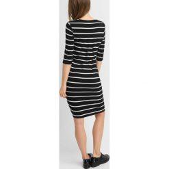 Sukienki: Dopasowana sukienka w paski