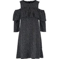 Sukienki hiszpanki: YAS YASABBY Sukienka letnia black/white