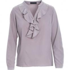 Szara Koszula Recently. Szare koszule damskie Born2be, l, z tkaniny, eleganckie, z długim rękawem. Za 59,99 zł.