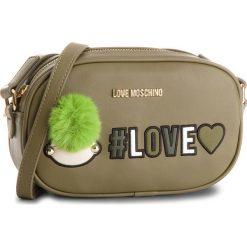 Torebka LOVE MOSCHINO - JC4069PP16LK0850  Verde. Zielone listonoszki damskie Love Moschino, ze skóry ekologicznej, na ramię. W wyprzedaży za 509,00 zł.