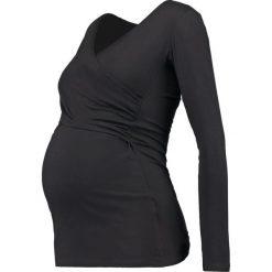 Bluzki asymetryczne: Envie de Fraise FIONA Bluzka z długim rękawem black