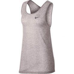 Koszulka sportowa damska NIKE BREATHE ASYMMETRIC TANK / 889133-684. Niebieskie bluzki sportowe damskie marki 4f, s. Za 149,00 zł.