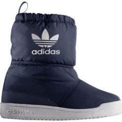 Buciki niemowlęce: Adidas Buty Zimowe Dziecięce Slip On Boot I Granatowy r. 25 - (B24741)