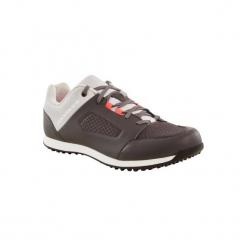 Buty na rower MTB ST 100 damskie. Szare buty trekkingowe damskie marki ROCKRIDER. W wyprzedaży za 149,99 zł.