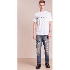T-shirty męskie: Neil Barrett BLACKBARRETT LOGO SHORT SLEEVE Tshirt z nadrukiem white/grey