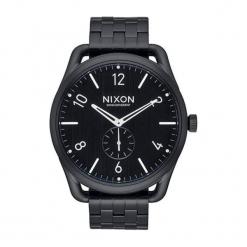 """Zegarek """"A951-001-00"""" w kolorze czarnym. Czarne, analogowe zegarki męskie NIXON & ESPRIT, ze stali. W wyprzedaży za 1129,95 zł."""