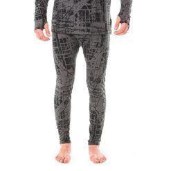 Odzież termoaktywna męska: Marmot Spodnie termoaktywne męskie Kestrel Tight Slate Grey Structure r. L (11140)