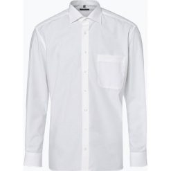 Eterna Comfort Fit - Koszula męska niewymagająca prasowania, beżowy. Brązowe koszule męskie na spinki Eterna Comfort Fit, m, z klasycznym kołnierzykiem. Za 199,95 zł.