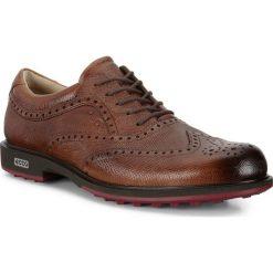 Golfy męskie: ECCO Mens Tour Golf Hybrid – Brązowy – 40