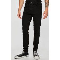 Casual Friday - Jeansy. Czarne jeansy męskie slim marki Casual Friday, z bawełny. W wyprzedaży za 199,90 zł.
