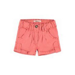 Odzież chłopięca: EMOI Girls Mini Szorty kolor koralowy