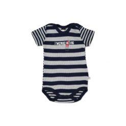 Kanz  Baby Body dziecięce z krótkim rękawem black iris - niebieski - Gr.Niemowlę (0 - 6 miesięcy). Niebieskie body niemowlęce Kanz, z bawełny, z krótkim rękawem. Za 29,00 zł.