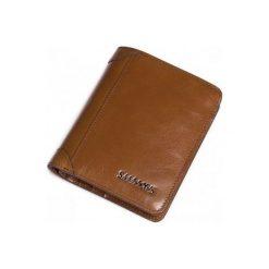 Portfele męskie: Sammons Krótki skórzany męski portfel Brązowy  (350180-57)