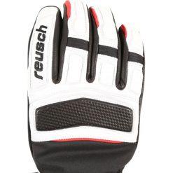Rękawiczki damskie: Reusch MASTERY Rękawiczki pięciopalcowe black/white / fire
