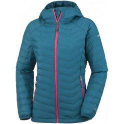 Columbia Kurtka Damska Powder Lite Hooded Jacket Phoenix Blue Xs. Niebieskie kurtki damskie softshell Columbia, na zimę, s, omni-heat (columbia). W wyprzedaży za 379,00 zł.