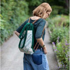 Torba w zielone. Zielone torebki klasyczne damskie Pakamera, z bawełny. Za 85,00 zł.