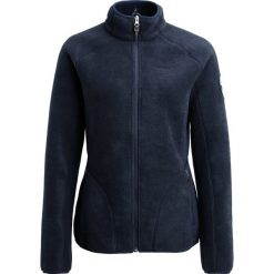 Schöffel SAKAI Kurtka z polaru navy blazer. Niebieskie kurtki sportowe damskie Schöffel, z materiału. W wyprzedaży za 335,20 zł.