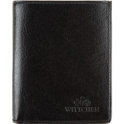 Portfel 21-1-124-1. Czarne portfele męskie marki Wittchen. Za 289,00 zł.