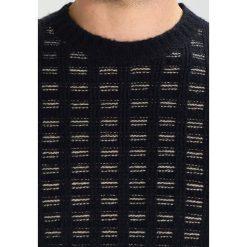 Swetry klasyczne męskie: Benetton Sweter schwarz