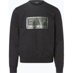 Bluzy męskie: EA7 - Męska bluza nierozpinana, szary