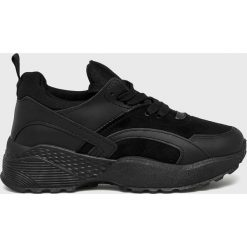 Answear - Buty Qiunba. Czarne buty sportowe damskie marki ANSWEAR, z materiału. W wyprzedaży za 79,90 zł.