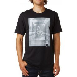 T-shirty męskie: FOX T-Shirt Męski Back Ss Tee S Czarny