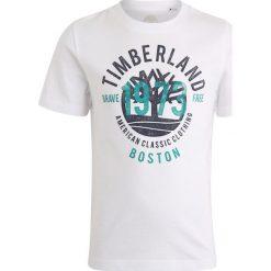 T-shirty chłopięce z nadrukiem: Timberland KURZARM 1973 Tshirt z nadrukiem weiss