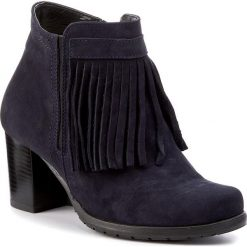 Botki SERGIO BARDI - Leonida FW127253317PL 413. Czarne buty zimowe damskie marki Sergio Bardi, z materiału, na obcasie. W wyprzedaży za 209,00 zł.