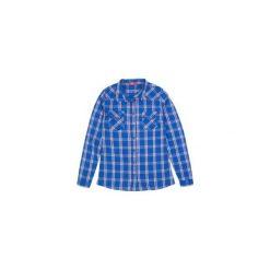 Koszula damska W KRATKĘ. Niebieskie koszule damskie w kratkę TXM. Za 29,99 zł.