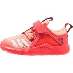 Adidas Performance RAPIDAFLEX 2 Obuwie treningowe chalk coral/footwear white/real coral. Brązowe buty sportowe chłopięce marki adidas Performance, z gumy. Za 179,00 zł.
