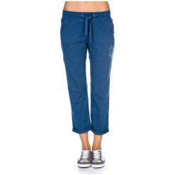 Roxy Spodnie Dresowe Rolled Up Pant Ocean S. Białe spodnie sportowe damskie marki Roxy, l, z nadrukiem, z materiału. Za 255,00 zł.