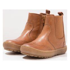 Bisgaard Botki cognac. Brązowe buty zimowe damskie Bisgaard, z materiału. W wyprzedaży za 259,35 zł.