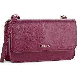 Torebka FURLA - Riva 904586 E EL40 B30 Amarena. Czerwone listonoszki damskie marki Furla. W wyprzedaży za 579,00 zł.