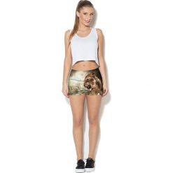 Colour Pleasure Spodnie damskie CP-020 93 brązowe r. M/L. Spodnie dresowe damskie marki Colour pleasure, l. Za 72,34 zł.
