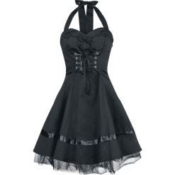 H&R London Lace Cotton Dress Sukienka czarny. Czarne sukienki na komunię marki H&R London, s, z tiulu. Za 199,90 zł.