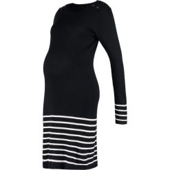 Sukienki dzianinowe: JoJo Maman Bébé Sukienka dzianinowa black/ecru