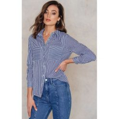 Paski damskie: Rut&Circle Koszula w paski Ingrid – Blue,Multicolor